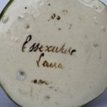 Essexware Pastille Burner - Markings