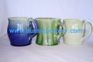 3 Bakewells mugs from the Newtone and Trent Art Wares lines